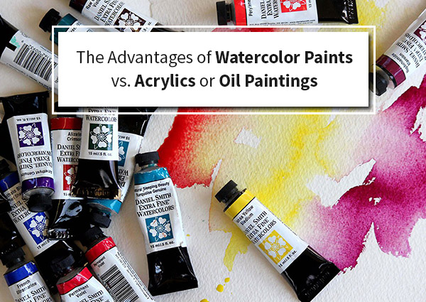 The-Advantages-of-Watercolor Paints