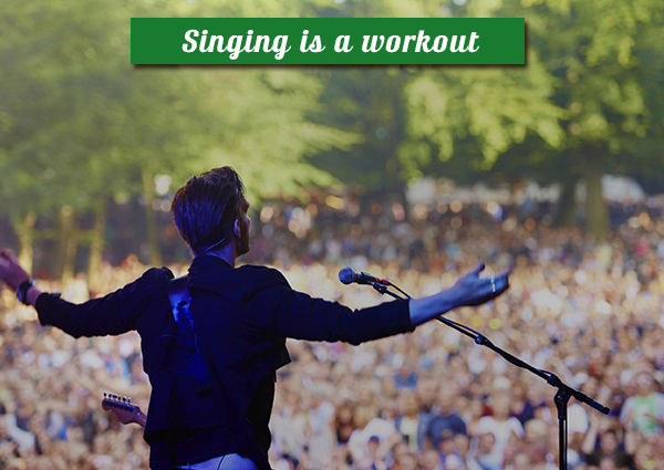 singing-is-a-workout
