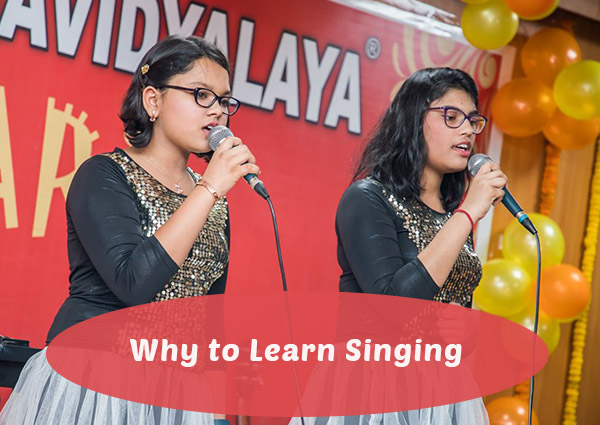 Why to Learn Singing