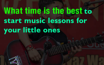 What Time Is The Best To Start Music Lessons For Your Little Ones