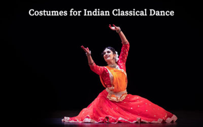 Costumes for Indian Classical Dance
