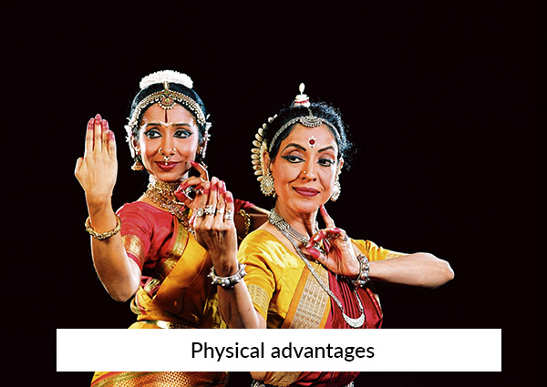 Physical-advantages