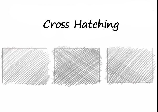 cross-hatching