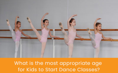 What is the Most Appropriate Age for Kids to Start Dance Classes