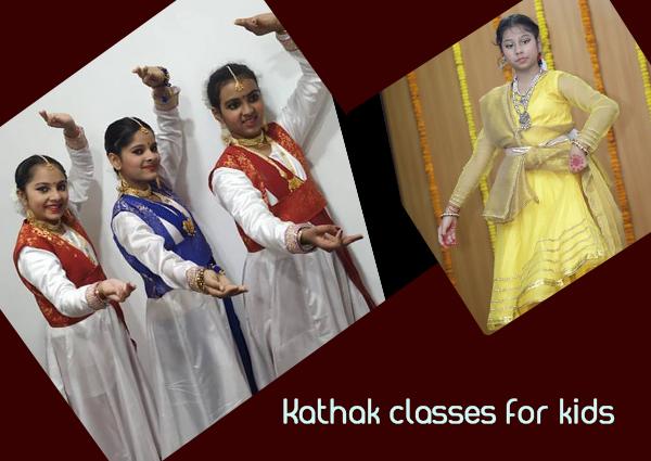 Kathak Classes For Kids