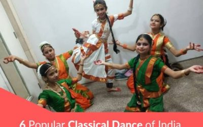 6 Popular Classical Dance of India