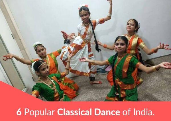 6 Popular Classical Dance of India