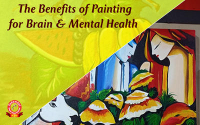 The Benefits of Painting for Brain & Mental Health